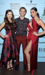 Olivia Sanabia, Jace Norman and Kira Kosarin