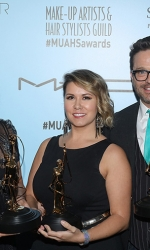 Best Hair Styling for Commercialís and Music Videos Award recipients Nicki Alkire, Fernando Navarro and Stephanie RiversPhotos by Craig T. Mathew and Greg Grudt/Mathew Imaging