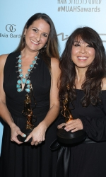 Best ContemporaryMakeup for a Feature-Length Motion Picture Award Recipients Ivana Primorac and Flora Moody